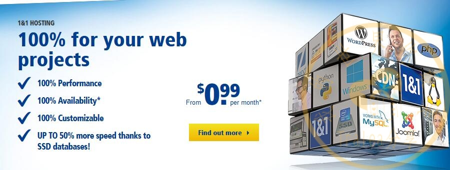 1and1 web hosting