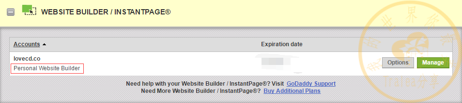 godaddy website builder产品